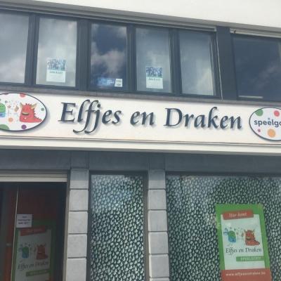 Elfjes en draken